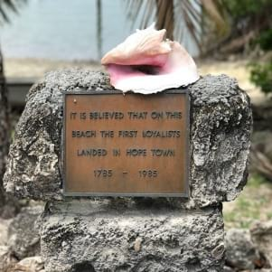 A little knowledge as you pass through Abaco Island.