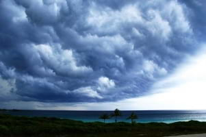 Fury of nature in Abaco Island.