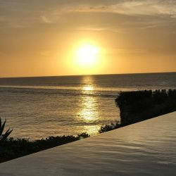 A picture of a Beautiful Anguilla Sunset.