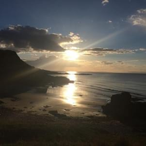 Cove Bay sunsets are incredible.