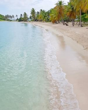 A beautiful secluded island