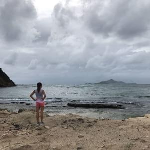 Amazing beach in Grenadines.