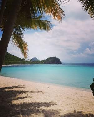 Beautiful island of Lesser Antilles