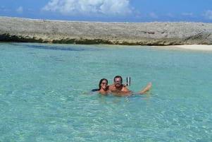 Enjoying the day in Man O War Cay.