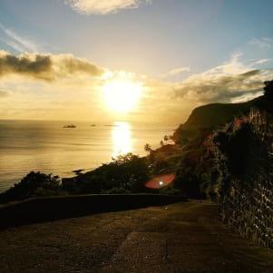Sunset on Saint Eustatius