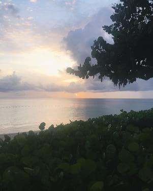 A dreamy sunset in Antigua
