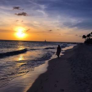 Last sunset in Aruba.