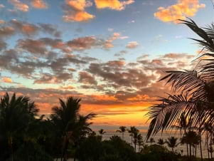 The land of 10 minute sunset, .Big island of Hawaii.
