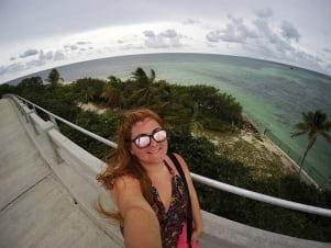 Selfie in the Lower Florida Keys