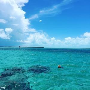 Beautiful view in Bimini Bahamas