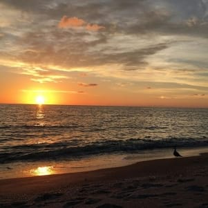 Perfect sunset in Captiva
