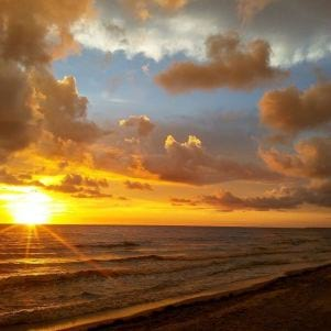 Sunsets are awesome in Captiva.