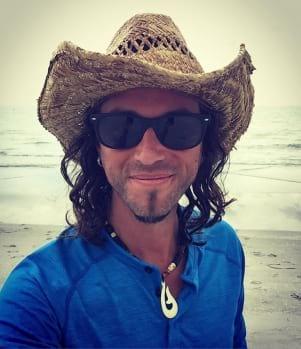 A modern version of a Captiva Island Cowboy