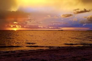 Sunsets around Captiva and Sanibel are magical