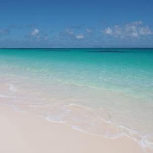 Picture perfect beach in Eleuthera.