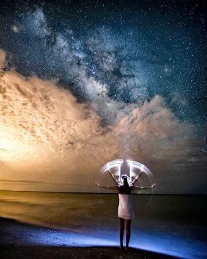 Stargazing from Ft. Myers beach