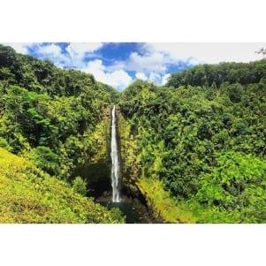 A magnificent Hawaiin waterfall