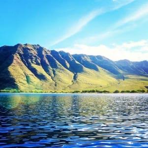 Boat trip, Oahu - northwest shore