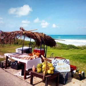 Caribbean style drive in - Isla Mujeres