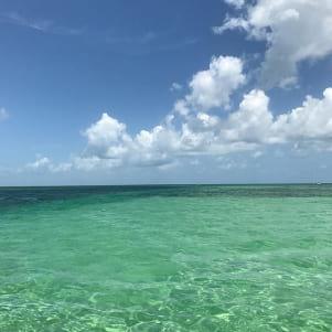 Beautiful day and beautiful water around Key West Florida