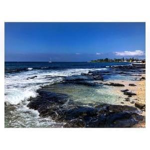 Kona Hawaii is beautiful.