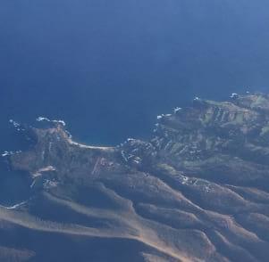 Lanai from the sky....Beautiful!