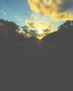 Poetic sunrise in Marathon Florida Keys
