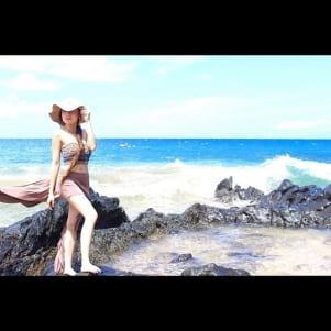 Making a fashion statement in Maui Hawaii