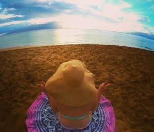 The view is splendid on Maui Island.