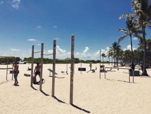 A perfect day at Miami Beach