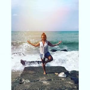 Yoga + Miami Beach sounds like a perfect match