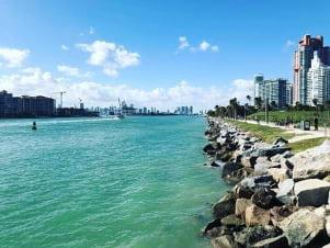 South Pointe Park in Miami Beach.