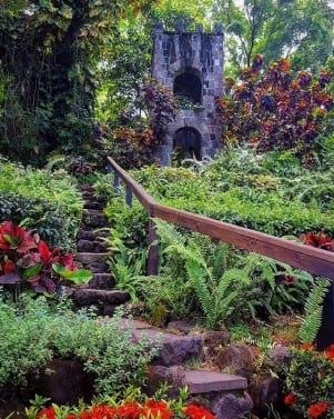 A secret garden in Nevis