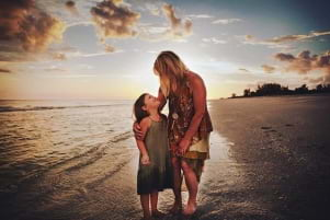Memorable moments at sunset on Sanibel Island Florida