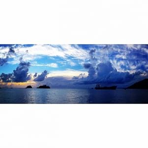 Painted Sky at Gustavia