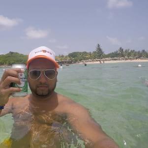 Relaxing in St. Maarten