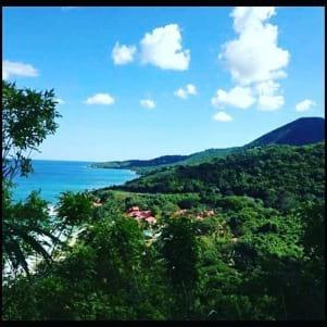 Terrific view of St. Croix.