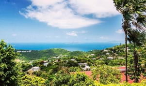 Breathtaking view in St John