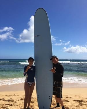 Had to try it in surfing country