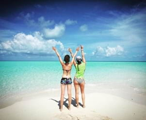 Bye bye Bahamas, thanks for having us
