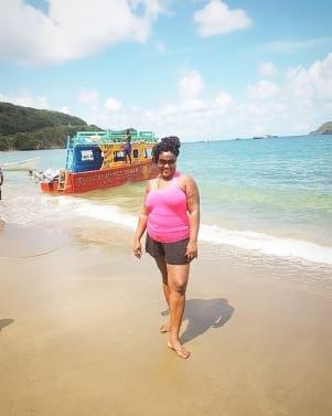 Having fun in Tobago!