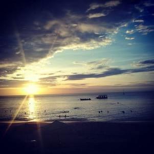 Awesome Tobago sunset