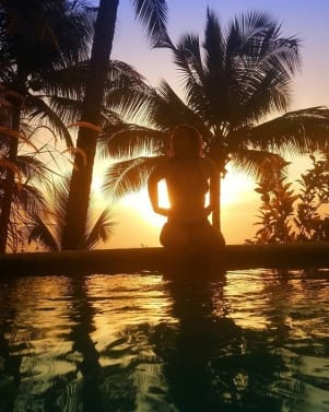 Picture perfect sunset in Tobago