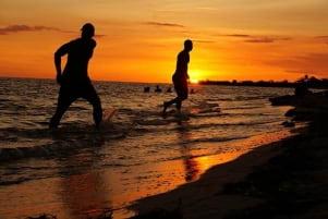 Beautiful sunset in Trinidad