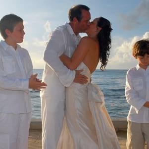 A blissful wedding in Virgin Gorda.
